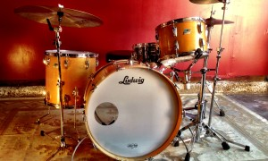 1970's Ludwig Thermo-Gloss Maple 9x13, 16x16, 14x24""