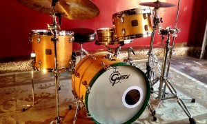 1980's Gretsch Maple Jazz kit 8x12, 12x14, 14x20""