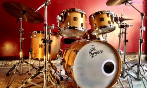 1980's Gretsch Maple 8x12, 9x13, 14x16, 16x22""