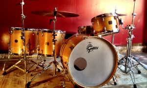 1980's Gretsch Maple 9x13, 14x16, 16x18, 18x24""