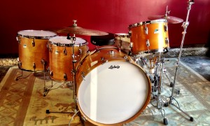 1970's Ludwig Thermo-Gloss Bonham Kit 10x14, 16x16, 16x18, 14x26""