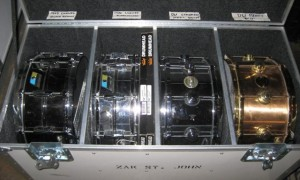 snare truck close up
